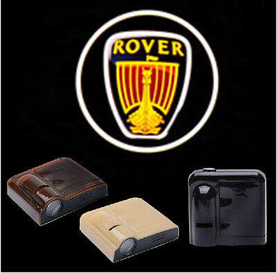 2PCS 5W Wireless Car LED Door Projector Logo Ghost Shadow Laser Lights for ROVER