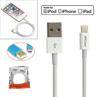 For iPhone X 8 7 6s Plus 5 AICase MFi Cable Certified USB Lightning Sync Charger