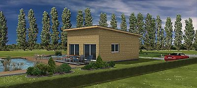 holzrahmenhaus rohbau ausbauhaus tiny haus tiny house mini haus mit montage eur. Black Bedroom Furniture Sets. Home Design Ideas