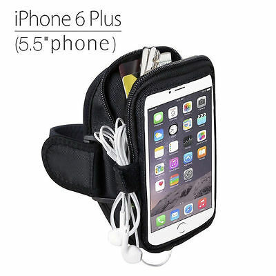 Running Gym Jogging Exercise Neoprene Sport Armband For iPhone 6 / 6S Plus US