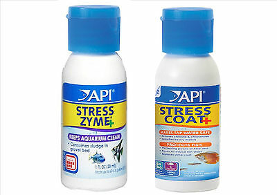 API Stress Zyme and Stress Coat Twin pack 30ml