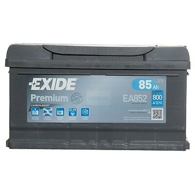 Type 110 Car Battery 800CCA Exide Premium 12V 85Ah 4 Yrs Wty Sealed OEM Quality