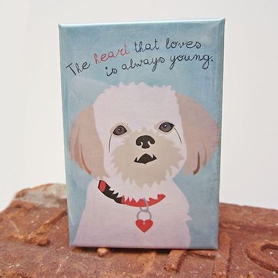 Shih Tzu Dog Heavy Duty Art Magnet - Free Shipping ASAP