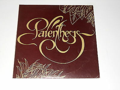 Parenthesis - LP - PERU 1983 - rare and great folk with female voice