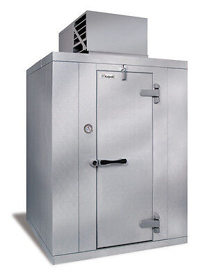 """Kolpak P7-0610-CT 5'10"""" x 9'8"""" x 7'6.25""""H Walk-In Cooler Self Contained"""