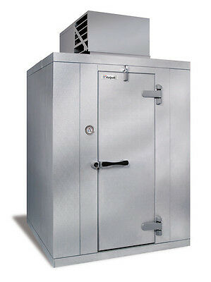 """Kolpak PX7-0610-CT 5'10"""" x 9'8"""" x 7'6.25""""H Walk-In Cooler Self Contained"""