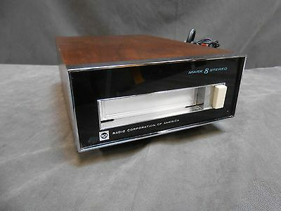 Vintage RCA Model MLC-20W Mark Eight Stereo 8-Track Player