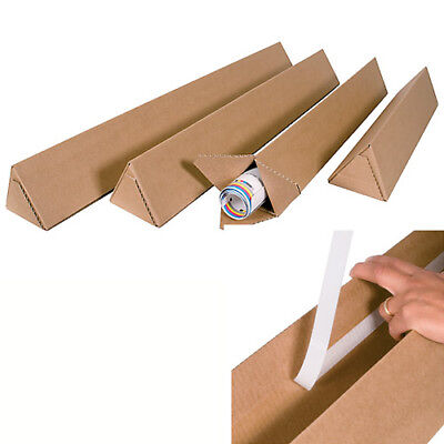 Triangular Corrugated Tubes / Boxes -Various Sizes And Amounts Available