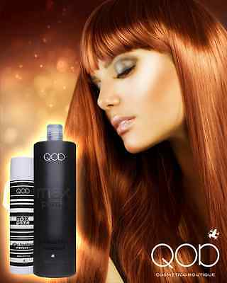 QOD MAX PRIME Brazilian Keratin Straightening -Treatment 2Kit  Formaldehydfrei