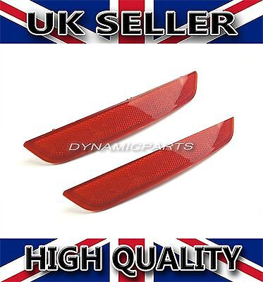 Ford Mondeo Mk4 Rear Left+Right Bumper Reflector (07-10) [Hatchback Only]
