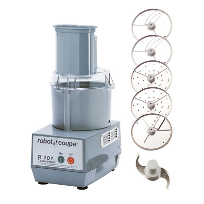 Robot Coupe R101P Combination Electric Food Processor Vegetable Prep