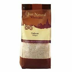 Just Natural Wholesome Oat Bran 350 g