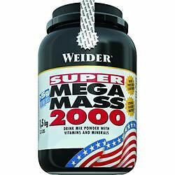 Weider Nutrition Mega Mass 2000 Chocolate 1500 g