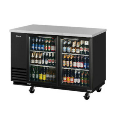 TURBO AIR TBB-2SG Glass Door Back Bar Cooler FREE SHIP!