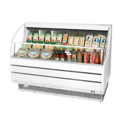 Turbo Air TOM-50S Open Display Case Cooler in White