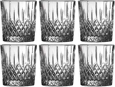 Royal Doulton Crystal Earlswood 6 Tumblers (Boxed) - New