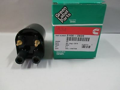 Genuine Onan 166-0820 Electronic Ignition Coil 12V For P Series OEM