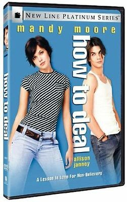 DVD - Romance - How To Deal - Mandy Moore - Allison Janney - Trent Ford