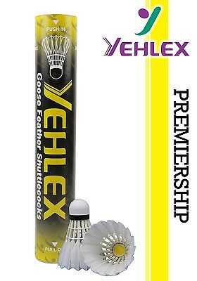 Yehlex Premiership Grade Feather Shuttles