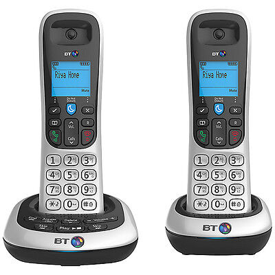 Bt 2600 Twin Digital Cordless Telephone With Speaker Phone & Answer Phone