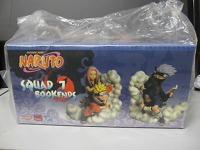 Naruto Team 7 Bookends Resin Statue Number 28 Of 2000 - Sealed- Low Ed. No.