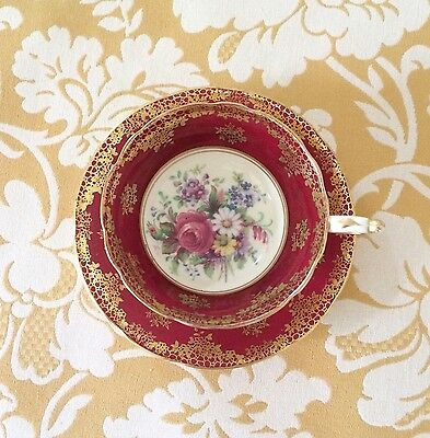 Vintage Porcelain Teacup Paragon Fine Bone China England