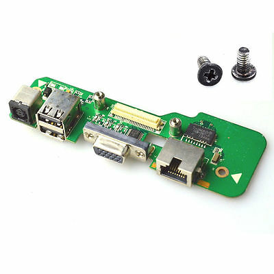 New DC Jack Power USB Charging Board Socket for Dell Inspiron 1545 Screws 10921