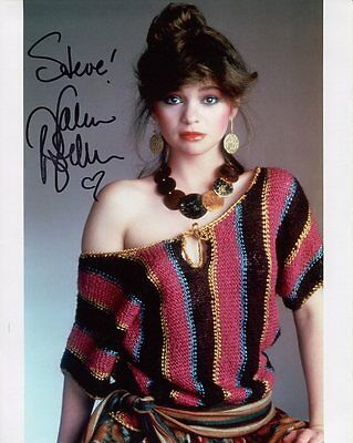 VALERIE BERTINELLI HAND SIGNED 8x10 PHOTO      YOUNG+GORGEOUS    SIGNED TO STEVE