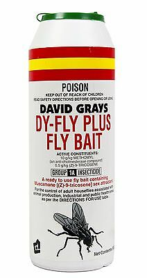 Dy-Fly Plus Fly Bait 600g David Grays Pest Control Maggots