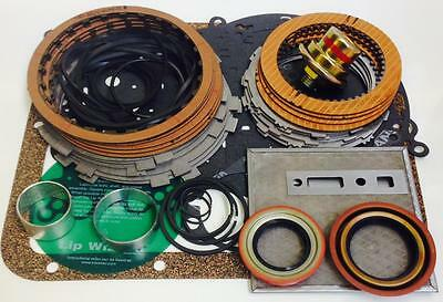 Powerglide Deluxe Rebuild Kit With Steel Plates & New Standard Band