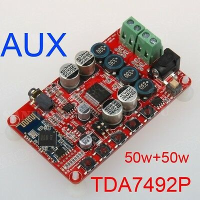 TDA7492P 50W+50W Wireless Bluetooth 4.0 AMP Receiver Digital Amplifier Board
