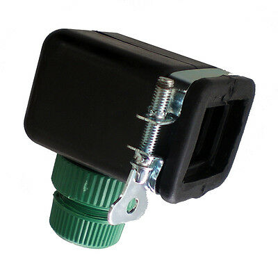 Large Square Kitchen Bathroom Mixer Tap Connector Adaptor to Half Inch Hose