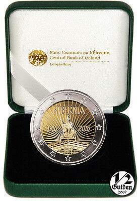 IRELAND 2 Euro 2016 Proclamation of the Irish Republic Proof Coin Box Proof Eire