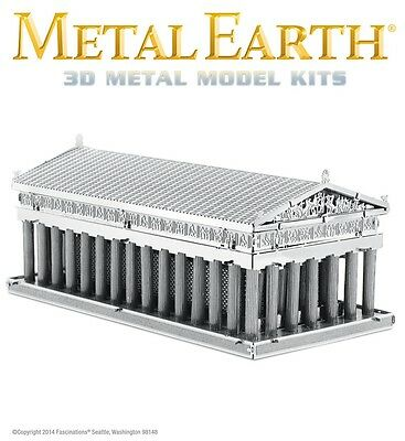 Fascinations Metal Earth Parthenon Laser Cut 3D Model
