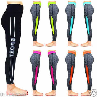 Womens Ladies Gym Exercise Sports Pants Fitness Yoga Running Leggings Trousers