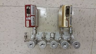 AMAT, Applied Materials, Gas Panel, Manifold, Valve, Stick, MFC