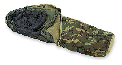 Military Modular 4-Piece Sleeping Bag System with Gortex Cover