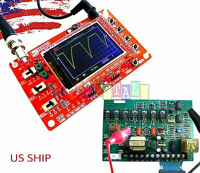 """DSO138 2.4"""" TFT Digital Oscilloscope Kit DIY parts ( 1Msps ) with One FREE Probe"""