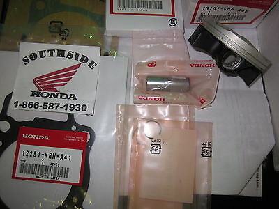Genuine Oem Honda Piston Top End Kit With Gaskets Crf250R  2010-2013