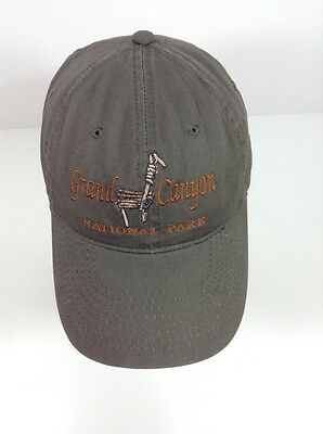 GRAND CANYON NATIONAL PARK Ball Cap Hat Embroidered 100% Organic Cotton