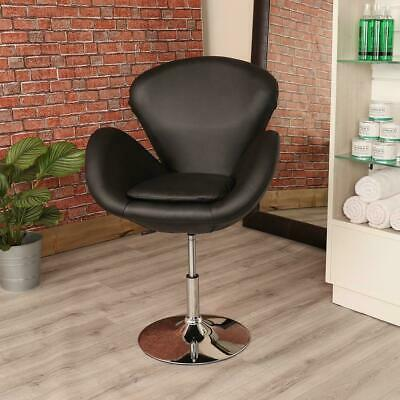 Black Leather Style Hairdresser/barber Swivel Chair Beauty Salon Furniture
