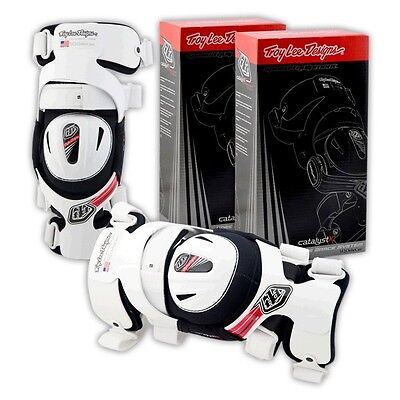 Troy Lee Designs Catalyst X Knee Brace Pair Adult MX/Offroad/Motocross/ATV