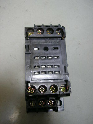 "Relay  My4N  ""din Rail Mount Bases""   14 Pin"