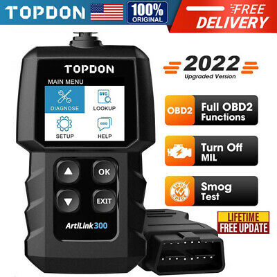 Autel Autolink AL319 OBD2 Scanner Code Reader Tool For Ford GM Toyota BMW BENZ