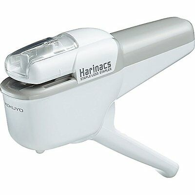 Kokuyo Harinacs Japanese Stapleless Stapler Ten-sheet binding White SLN-MSH110W
