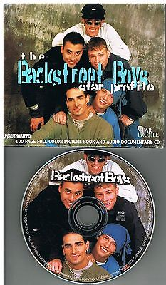 Backstreet Boys ‎– The Backstreet Boys Star Profile CD + Book 1997