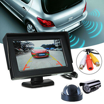 "HD 4.3"" inch LCD Video Security Tester CCTV Camera Test FPV Snow Monitor w/Cable"