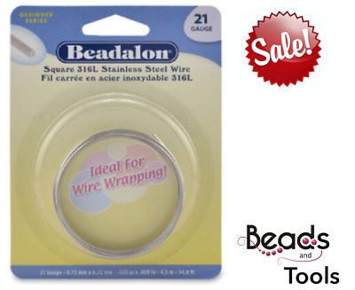 Beadalon® Stainless Steel Wire - Assorted Styles & Gauges - Wire Wrapping