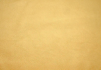 BARKERS HIDE Pearlised cowhide leather Lemon yellow for bags & furnishing etc