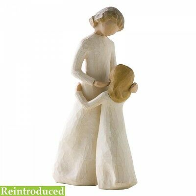 New & Boxed Willow Tree Figurine 'Mother and Daughter' #26021 Mothers Day Gift
